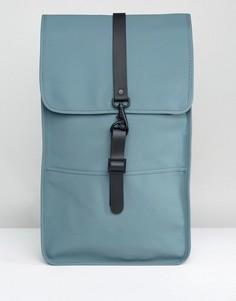 Сине-зеленый рюкзак Rains - Зеленый