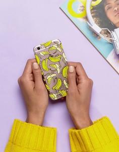 Чехол для iPhone 6/6s/7 с дизайном бананы и надписью Skinnydip - Мульти