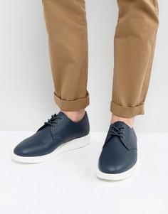 Туфли из мягкой кожи Dr Martens Torriano - Синий