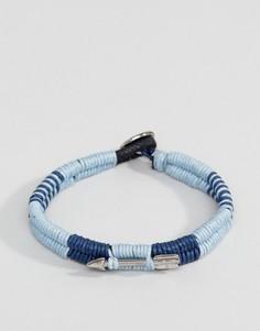 Темно-синий браслет-шнурок Icon Brand - Темно-синий