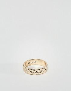 Кольцо Icon Brand Rattan - Золотой