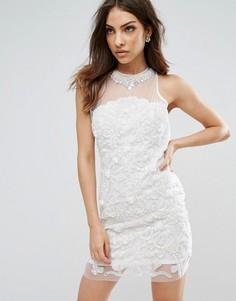 Платье мини с отделкой A Star Is Born - Белый
