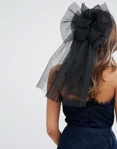 Украшение для волос ограниченной серии с бантом - Черный Asos