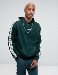 Худи зеленого цвета adidas Originals Adicolor TNT BS4689 - Зеленый