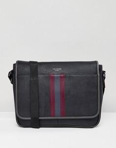 Черная сумка почтальона Ted Baker Buzard - Черный