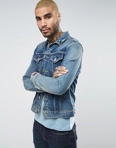 Джинсовая куртка AllSaints - Синий