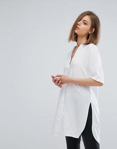 Длинная рубашка Moss Copenhagen - Белый