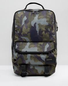 Рюкзак с камуфляжным принтом Diesel - Черный