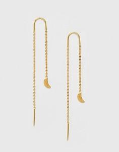Серьги с подвесками Ottoman Hands - Золотой