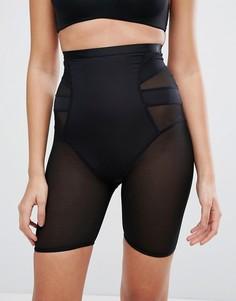 Моделирующие шорты с завышенной талией New Look Solutions - Черный