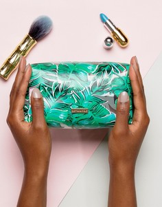Косметичка с пальмовым принтом Skinnydip - Зеленый