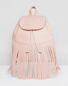 Рюкзак с бахромой Skinnydip - Розовый