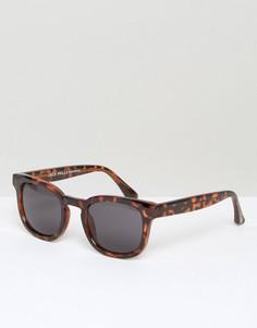 Солнцезащитные очки в черепаховой оправе Jack Wills Westerham - Коричневый