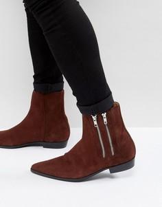 Замшевые ботинки Religion - Коричневый