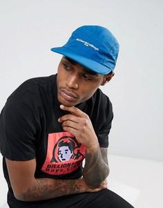 5-панельная кепка с логотипом Billionaire Boys Club - Темно-синий