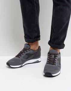 Серые кроссовки Diadora V7000 - Серый