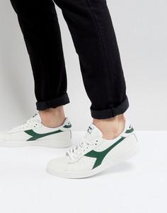 Белые низкие кроссовки Diadora Game L - Белый
