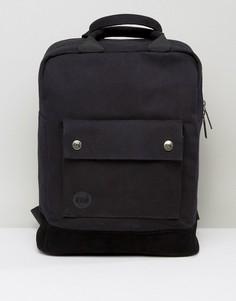 Черный парусиновый рюкзак-тоут Mi-Pac - Черный