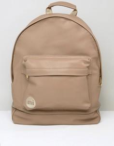 Бежевый рюкзак из мятой искусственной кожи Mi-Pac - Бежевый
