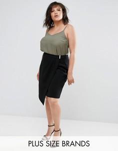 Черная юбка-тюльпан Elvi - Черный