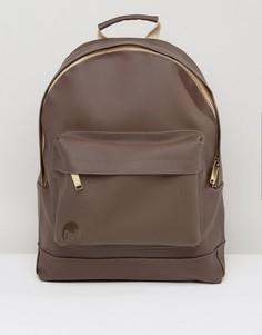 Коричневый резиновый рюкзак Mi-Pac - Коричневый