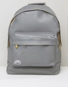 Серый резиновый рюкзак Mi-Pac - Серый