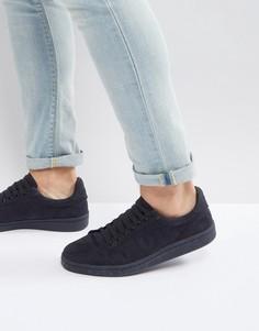 Темно-синие хлопковые кроссовки Fred Perry B721 - Темно-синий