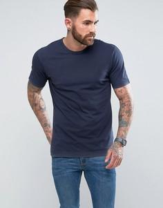 Свободная длинная футболка G-Star - Синий