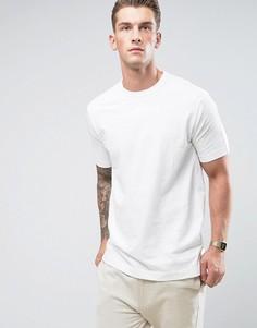 Удлиненная свободная футболка G-Star Korpaz - Бежевый