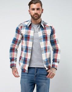 Рубашка в клетку в стиле вестерн Levis Barstow - Красный Levis®