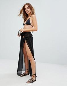 Пляжная юбка New Look - Черный