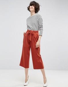 Юбка-брюки с поясом ASOS Tailored - Красный