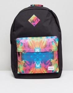Рюкзак с принтом Spiral - Черный