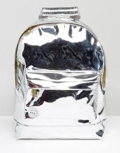Серебристый классический рюкзак Mi-Pac - Серебряный