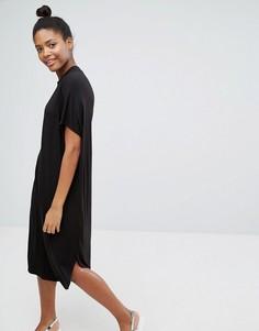 Платье‑футболка Monki - Черный