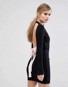 Платье с открытой спиной Asilio - Черный