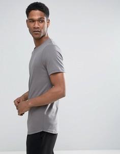 Длинная футболка Jack & Jones Premium - Серый