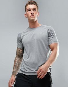 Футболка с рукавами реглан Slazenger Active - Серый