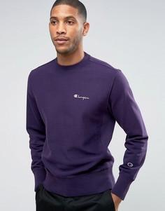 Фиолетовый свитшот с логотипом Champion - Фиолетовый