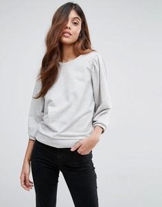 Свободный свитшот Vero Moda - Серый
