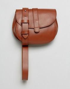 Светло-коричневая сумка на пояс Reclaimed Vintage Inspired - Рыжий