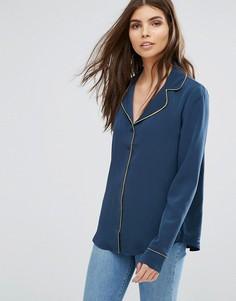 Блузка в пижамном стиле Vila - Мульти