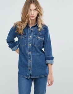 Джинсовая рубашка Gestuz - Темно-синий