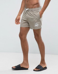 Песочные шорты для плавания Kings Will Dream - Светло-серый