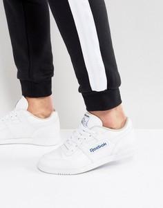 Белые кроссовки Reebok Workout Plus 2759 - Белый