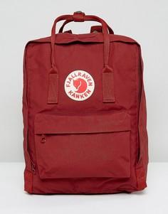 Красный классический рюкзак Fjallraven - Красный