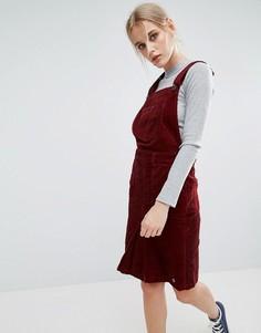 Вельветовый сарафан Pepe Jeans Shirley - Красный