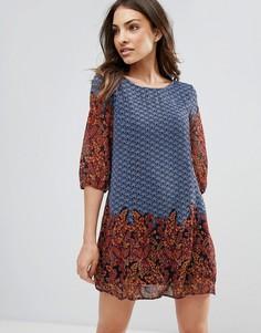 Свободное платье QED London - Темно-синий