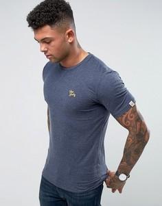Меланжевая футболка с круглым вырезом Tokyo Laundry - Темно-синий