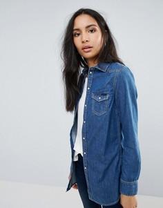 Джинсовая рубашка Pepe Jeans Rhonda - Синий